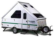 aliner expedition a frame tent trailer