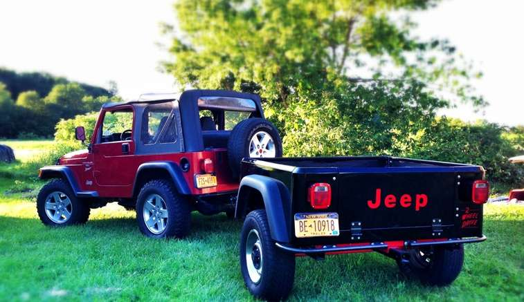 dinoot jeep trailer kit