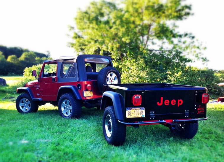 Build It Yourself Campers Build It Yourself Cabin Kits: Dinoot DIY Jeep Trailer Kits