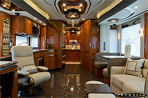 Newell Coach Rv Interior