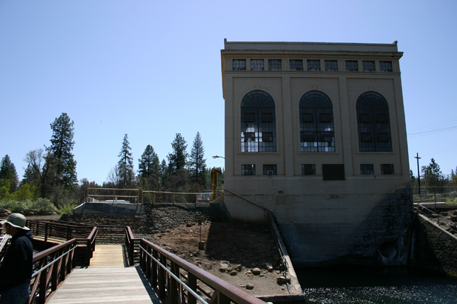 PG&E Powerhouse Burney CA