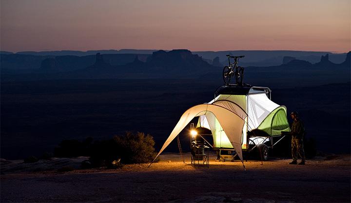 sylvansport go pop up tent trailer
