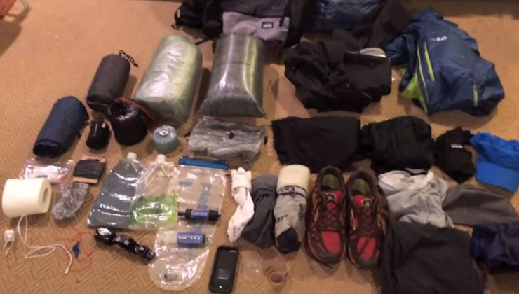 ultra lightweight backpacking tips
