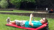 windcatcher camping air pad