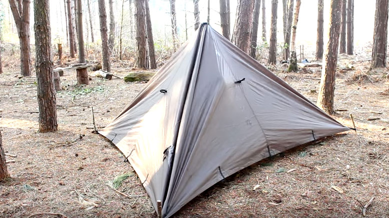 bushcraft tarp shelter