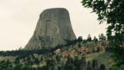 campsite devils tower wyoming