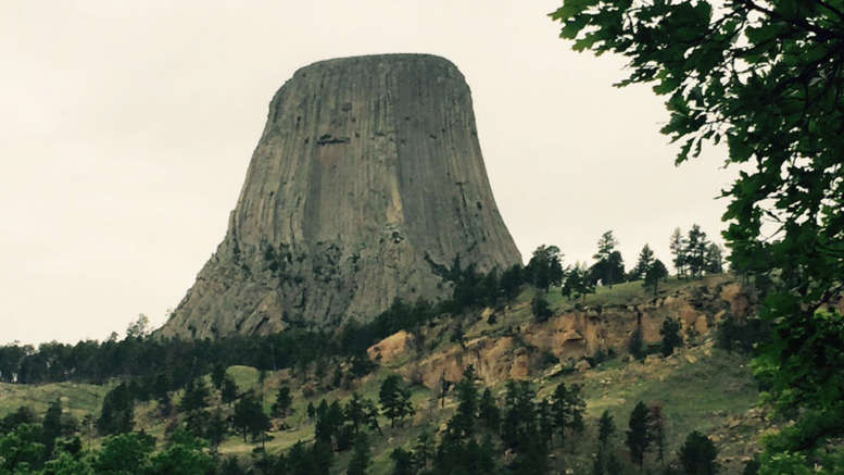 campsite devils tower wyoming