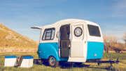 mini camping trailer