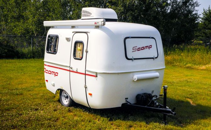 Model Car Campers Looking For A Small Trailer That Offers Plenty Of Options Will Love The
