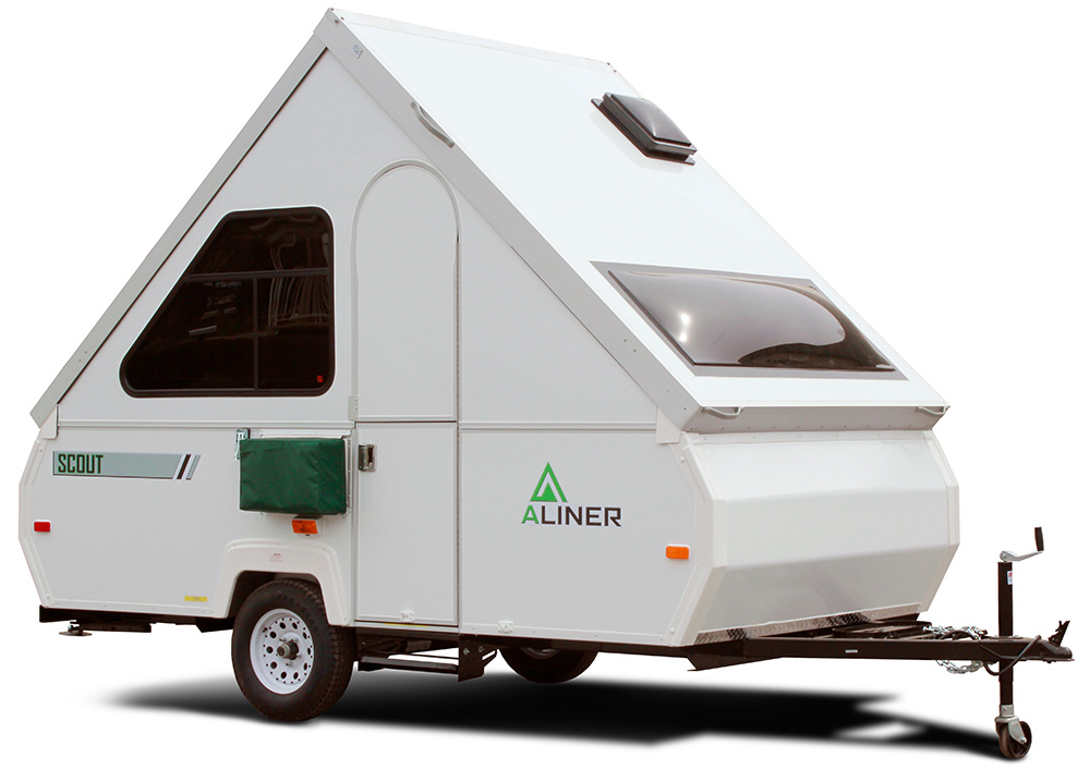 aliner scout mini trailer for camping