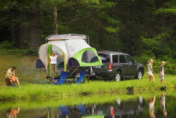 Mini Camper Trailers Towable By Small Suvs Cars And Trucks
