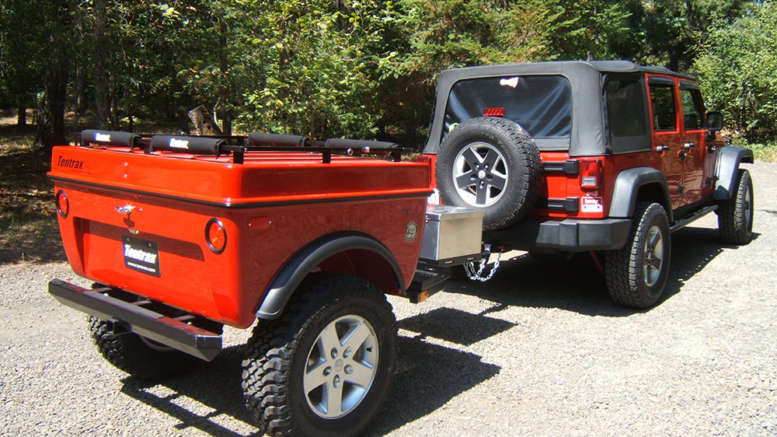 jeep offroad trailer