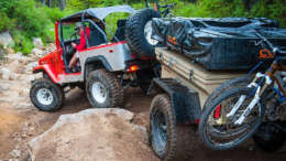 ruger off road camping trailer
