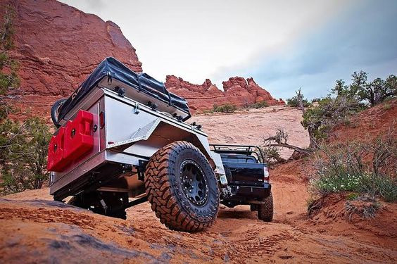 Off Road Camping Trailers 9 Overland Trailer Options For