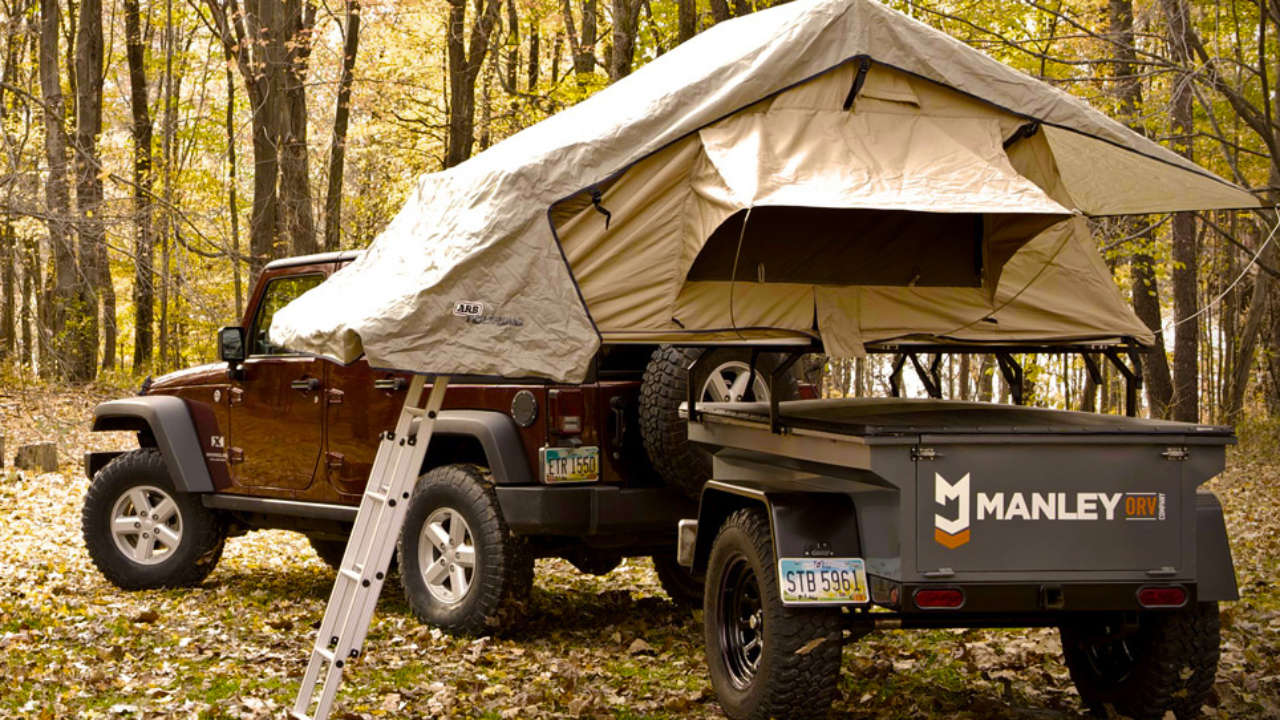 M416 Jeep Trailer: Overland Camping Trailers Based on Jeep