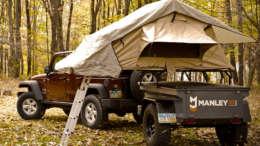 M416 jeep trailer