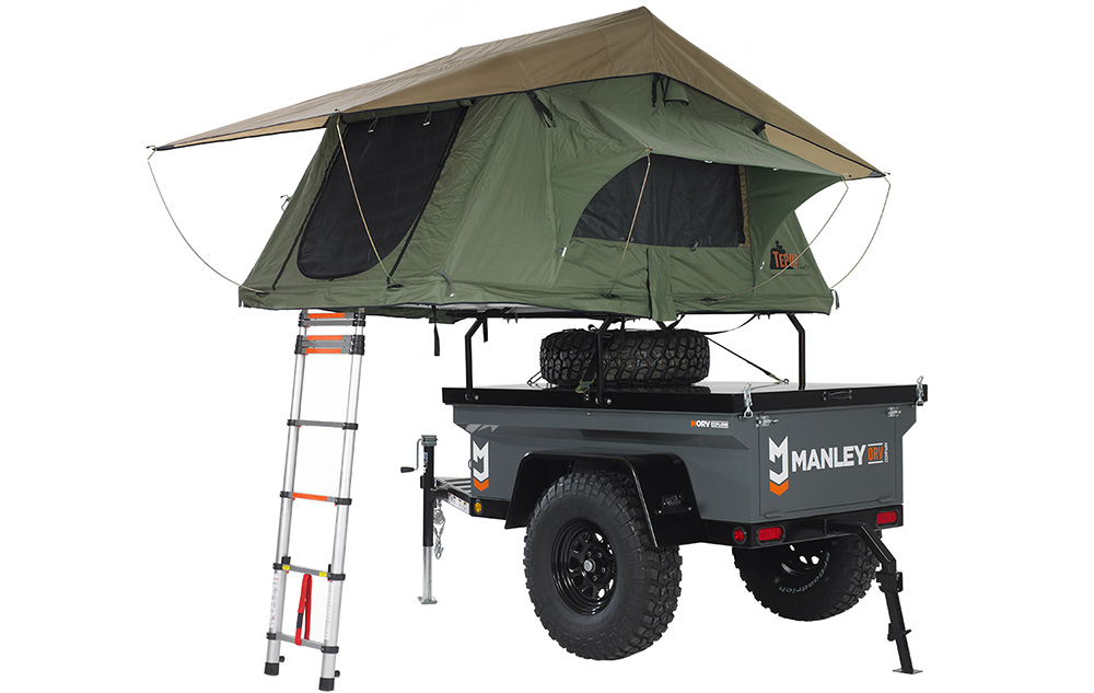 M416 Jeep Trailer Overland Camping Trailer Based On Jeep