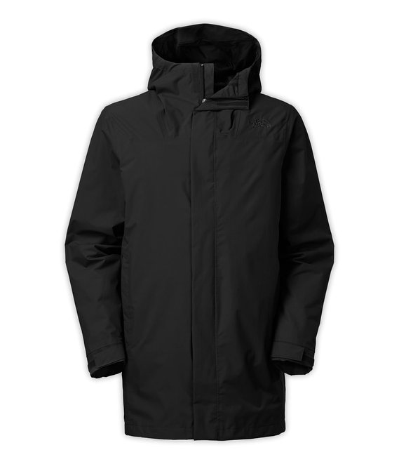 north face el mistri trench coat