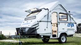 a frame camper