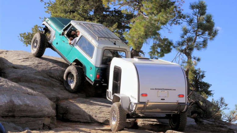 Jeep Trailer Off Road Teardrop Trailers: Makes and Models Available ...