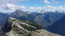 mountain scrambling