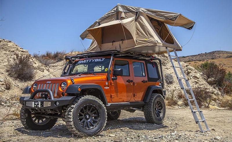 roof rack tent smittybilt