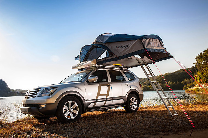 roof rack tent options for your vehicle hard soft shell. Black Bedroom Furniture Sets. Home Design Ideas
