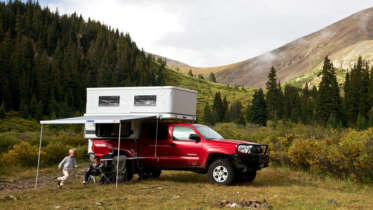 small truck pop up campers for ford autos post. Black Bedroom Furniture Sets. Home Design Ideas