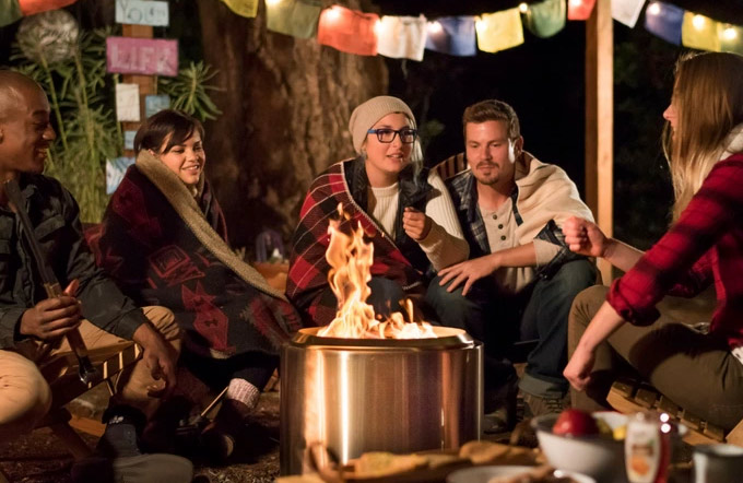 bonfire camp stove