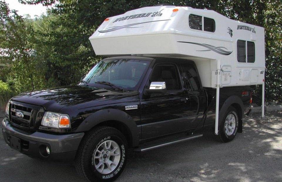ford ranger campers