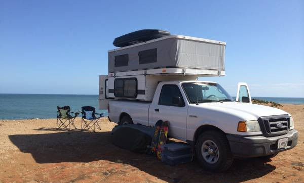 four wheel camper ford ranger