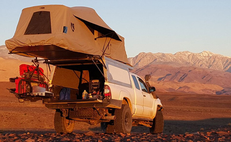 Small Truck Campers: Lightweight Pop-Up Campers for Small Trucks - Savage Camper