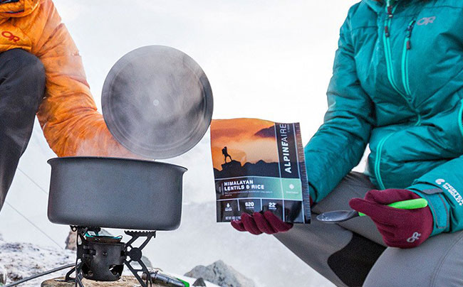 alpine air freeze dried food