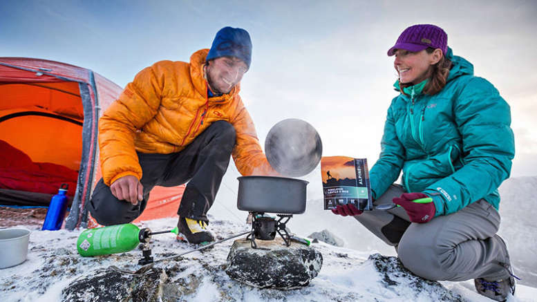 freeze dried food backpacking