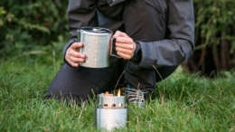 wood burning backpacking stove