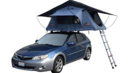 how to install roof rack tent