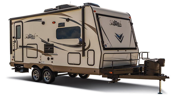 shamrock hybrid trailer