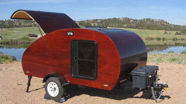 New Diy Travel Trailer Plans The Squidget Tiny Travel Trailer Plans