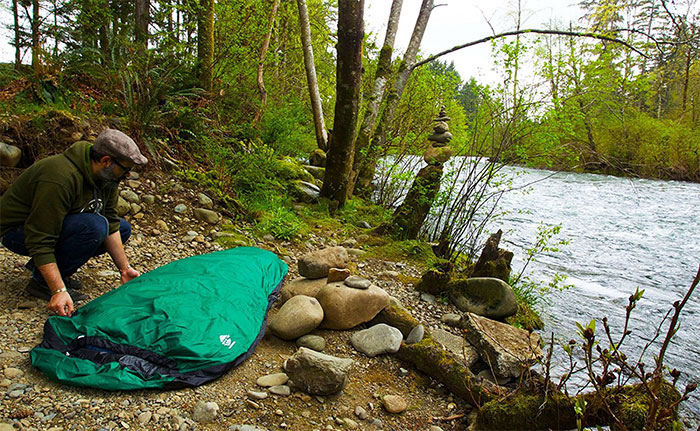 bivy sack mummy aqua quest