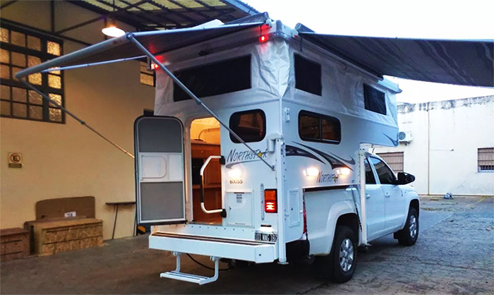 northstar camper for the nissan frontier