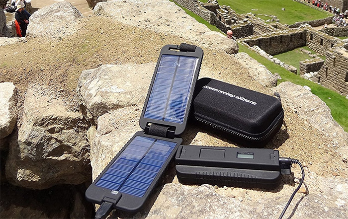powermonkey extreme solar charger backpacking