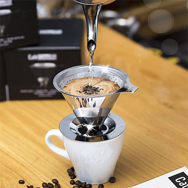 paperless pour over coffee maker