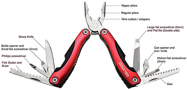 gelindo pocket multi tool