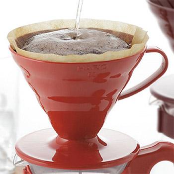 hario V60 pour over coffee