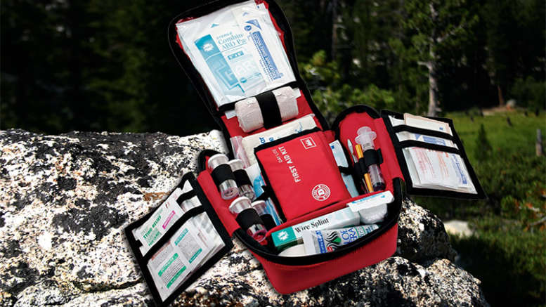 first aid kit backpacking