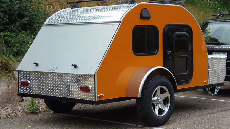 Featured TC Teardrops 5x8 Trailer