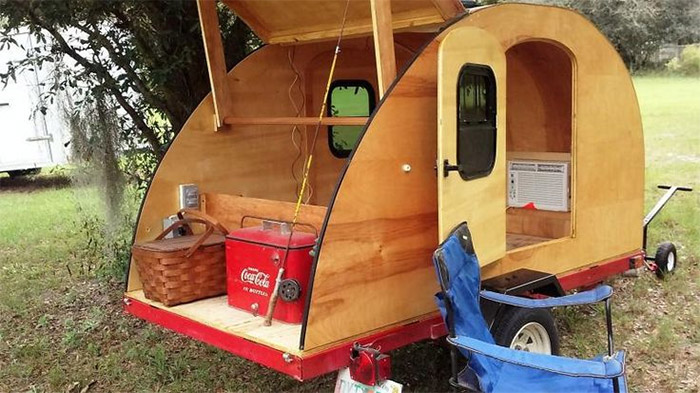 honey badger teardrop trailer