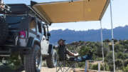 roof rack awning jeep