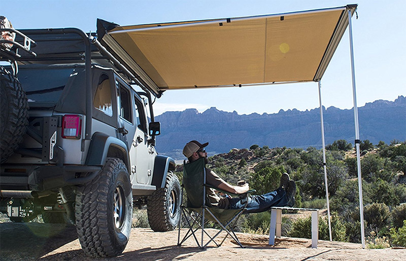 Roof Rack Awning Options Mount To Your Vehicle - Savage Camper