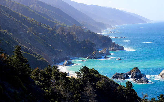 big sur along highway one